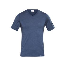 Bergans M's Bloom Wool Tee Navy Melange